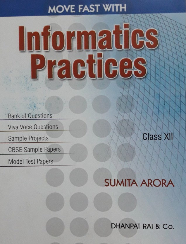 Informatics Practices Class 12 Ncert Textbook Pdf